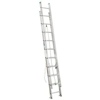 Werner D1220-2 20' Aluminum Extension Ladder