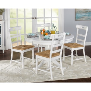 Simple Living 5-piece Briana Pedestal Dining Set