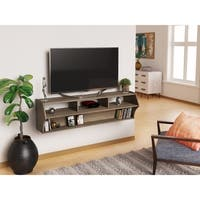 Shop Broadway Altus Plus Black 58 Inch Floating Tv Stand