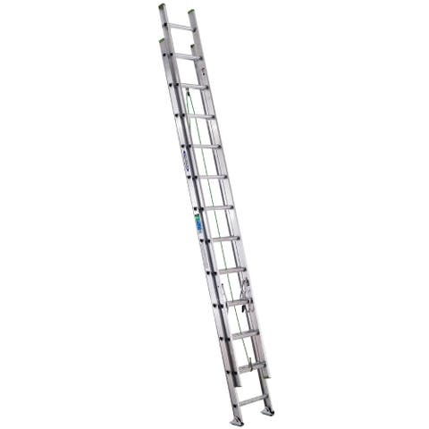 Werner D1224-2 24' Aluminum Extension Ladder