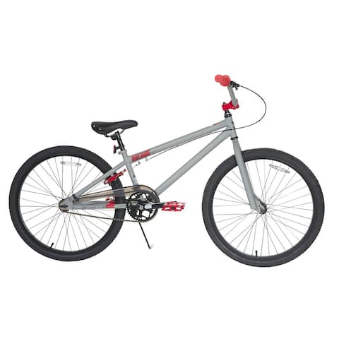 Dynacraft Tony Hawk Aftermath Grey/Red 24-inch Bike