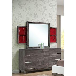 LYKE Home Berkeley Dresser and Mirror Set