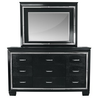 LYKE Home Lucas Dresser and Mirror Set