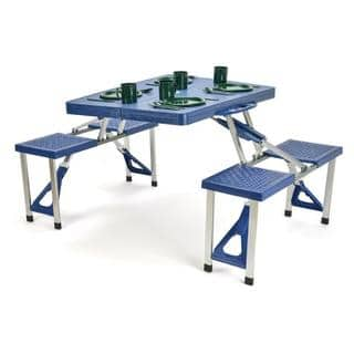 Trademark Innovations Portable Folding Picnic Table With 4 Seats|https://ak1.ostkcdn.com/images/products/12433626/P19249586.jpg?impolicy=medium