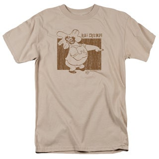 Popeye/Ha! Chump! Short Sleeve Adult T-Shirt 18/1 in Sand
