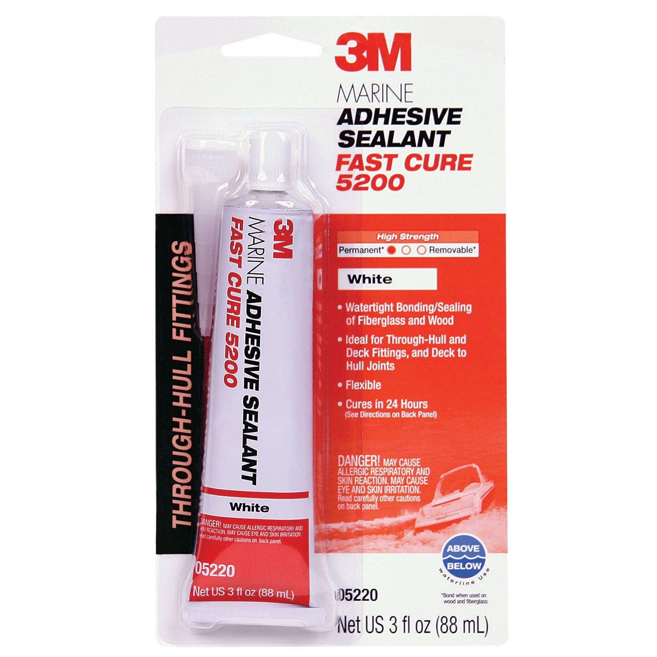 3M 05220 Marine Adhesive/Sealant Fast Cure 5200 (Fibergla...