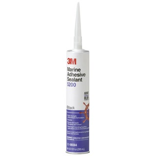 3M 06504 10.1 Oz Black Marine Adhesive Sealant 5200
