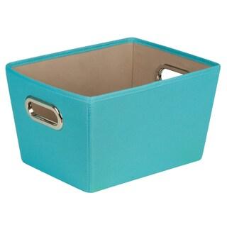 Honey Can Do SFT-01992 Small Canvas Storage Bin w/ Handles
