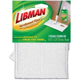 Libman 2050012 Reusable Wet & Dry Microfiber Hardwood Floor Cleaning Pad