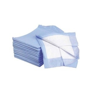 Pastel Blue Absorbent Disposable Underpads