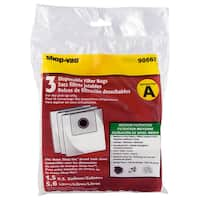 Shop Vac 906-67-00 Disposable Collection Filter Bags For AllAround
