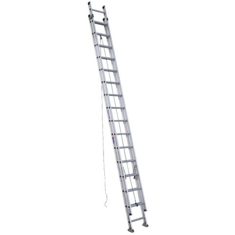 Werner D1532-2 32' 300 Lb Load Bearing Aluminum Extension Ladder