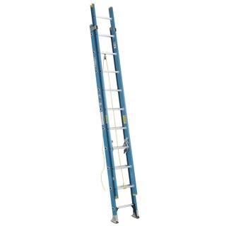 Werner D6020-2 20' Fiberglass Extension Ladder