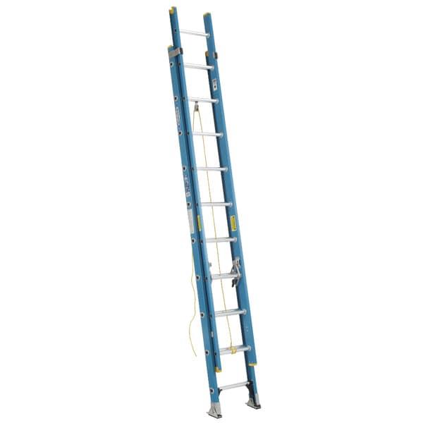 Werner D6020 2 20 Fiberglass Extension Ladder Free