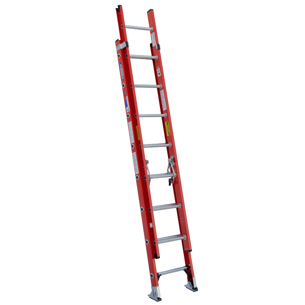 Werner D6216-2 16' Fiberglass Extension Ladder (Ladders),...