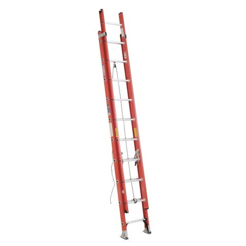 Werner D6220-2 20' Fiberglass Extension Ladder