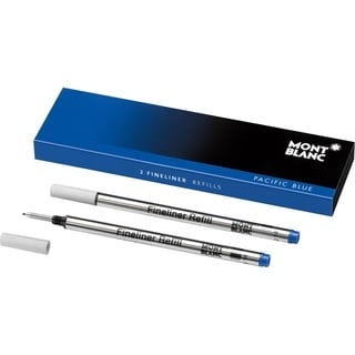 Montblanc Fineliner Refills Broad Pacific Blue 105171