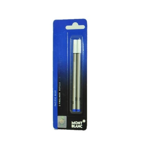 Montblanc Fineliner Refills Broad Pacific Blue 107874