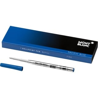 Montblanc Ballpoint Refill Fine Pacific Blue 105155