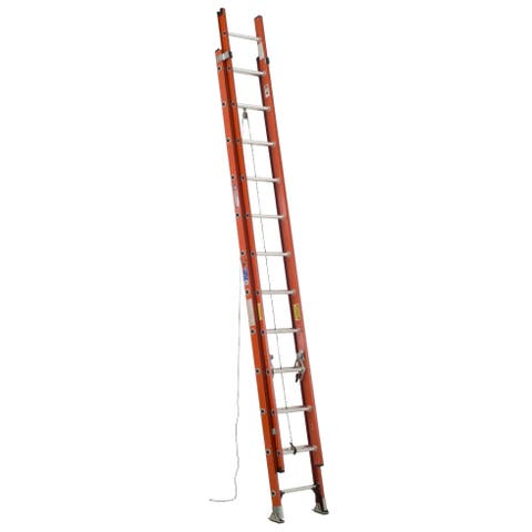 Werner D6224-2 24' Fiberglass Extension Ladder