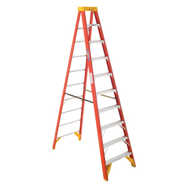 Werner 6210 10' Fiberglass Step Ladder