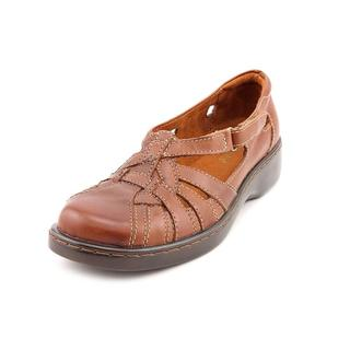 Auditions Women's 'Song' Tan Leather Sandals