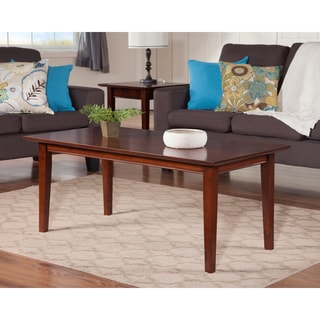 Shaker Walnut Wood Coffee Table