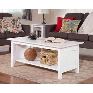 White Nantucket Coffee Table