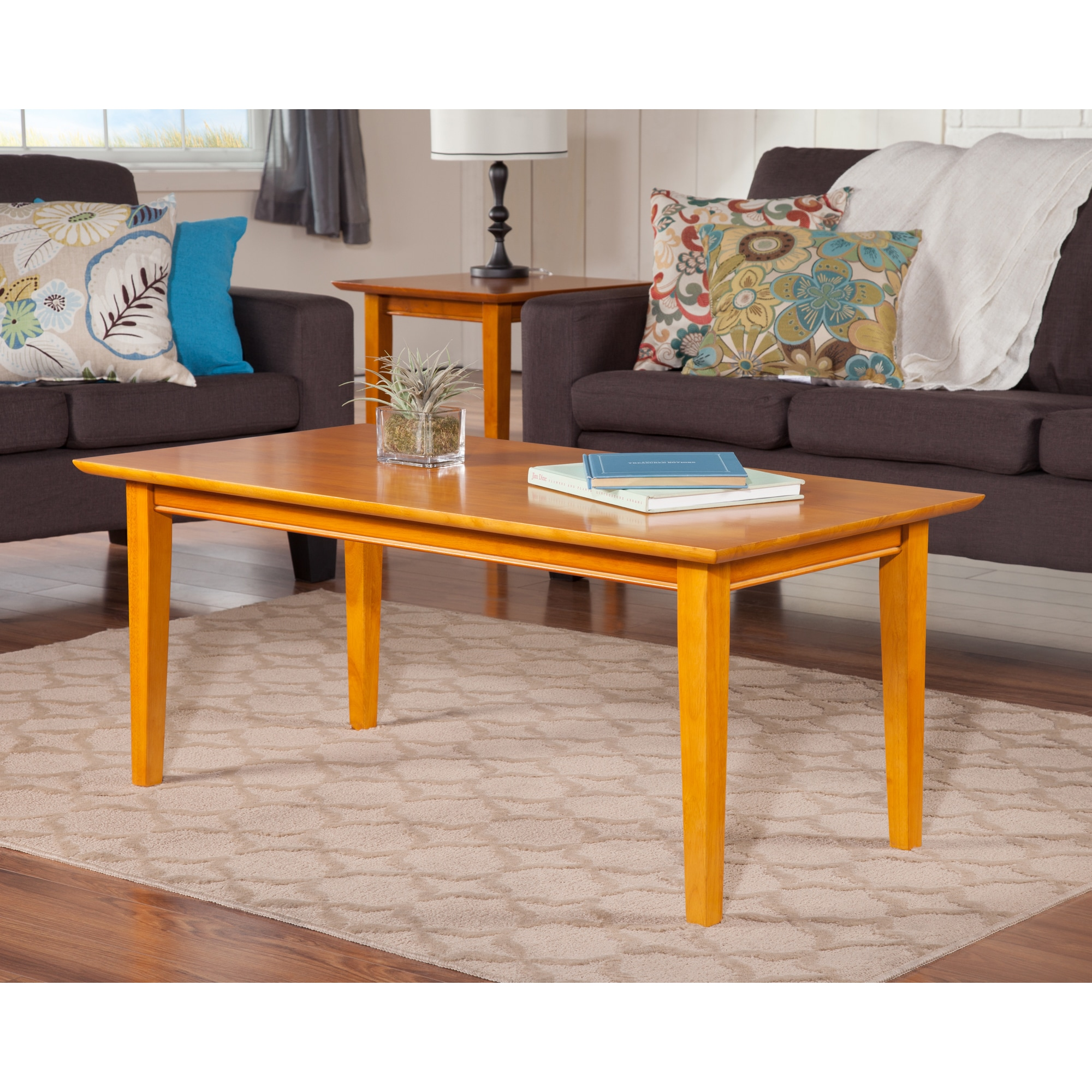 Caramel Latte Shaker Coffee Table