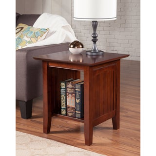 Nantucket Walnut Wood End Table