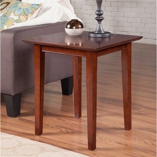 Shaker Walnut Wood End Table