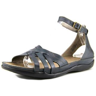 Array Women's 'Madrid' Blue Leather Sandals