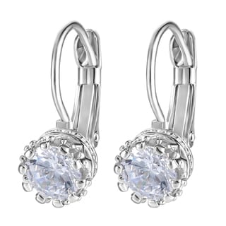 Austrian Crystal Crown Earrings