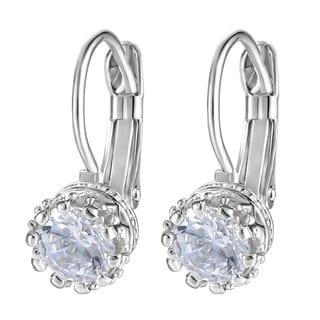Austrian Crystal Crown Earrings