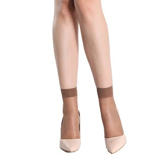 15-denier Lycra Ankle-length Socks (4 Pairs)