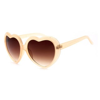 EPIC EYEWEAR Designer Women's Novelty Heart UV400 Sunglasses