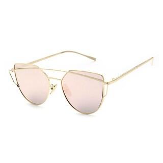 Epic Eyewear Women's UV400 Designer Framed Aviator Fashion Sunglasses