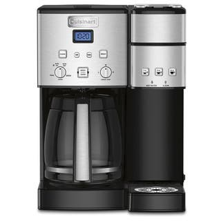 Cuisinart SS-15 Black 12-cup Coffee Maker and Single Serve Brewer