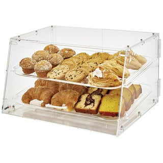 Winco Acrylic 2-tray Display Case