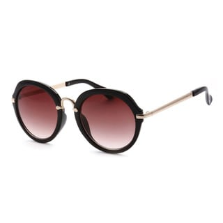 Epic Eyewear Designer Dapper Black Metal Women's UV400 Sunglasses