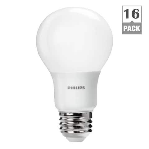 Philips 461137 60-watt-equivalent Daylight A19 LED Lightbulbs (Case of 16)