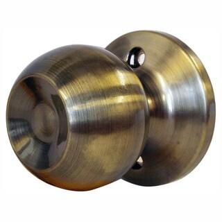 Chronos Dummy Antique Bronze Finish Locking Door Knob Handle Set