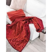 IBENA Kairo Plush Kaleidoscope Oversized Throw