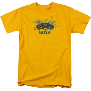 Dark Knight Rises/Coming At You Short Sleeve Adult T-Shirt 18/1 in Gold