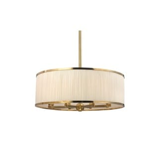 Hudson Valley Hastings 30-inch Aged Brass Chandelier