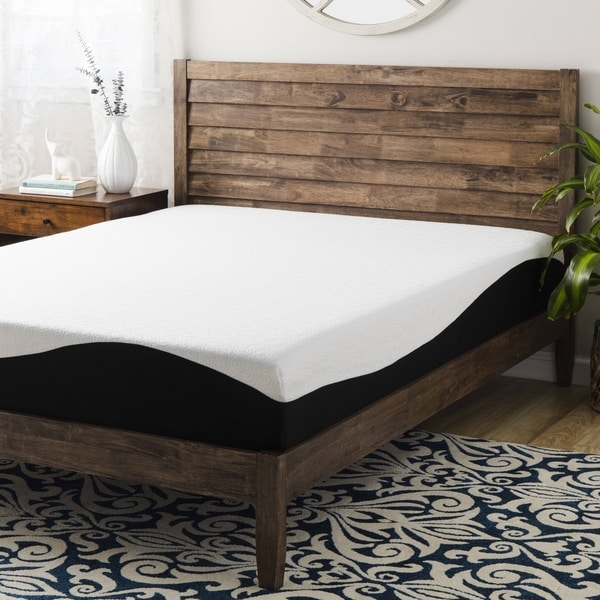 shop spring coil 8 inch twin size gel memory foam mattress free shipping today overstock. Black Bedroom Furniture Sets. Home Design Ideas
