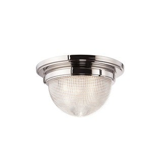 Hudson Valley Winfield 18-inch Polished Nickel Flush Mount