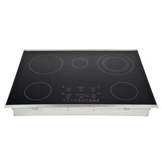 30-inch Stainless Steel Smooth-top Flex-power 5-element Electric Cooktop|https://ak1.ostkcdn.com/images/products/12436905/P19252484.jpg?impolicy=medium