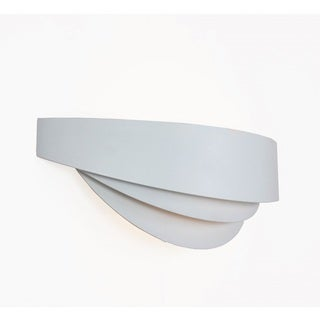 Hans Andersen Home White Aluminum Kaipo Wall Sconce