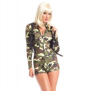 2-piece 'Commander Cutie' High-quality Adult Costume